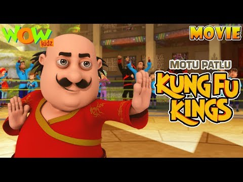 Motu Patlu Kung Fu Kings -Part 04 | Movie| Movie Mania – 1 Movie Everyday | Wowkidz