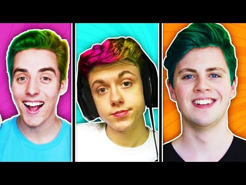 THE PALS GOT THEIR HAIR DYED!