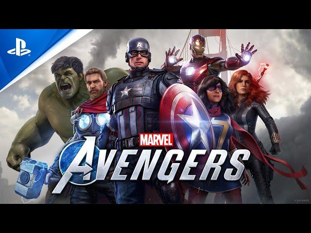 Marvel's Avengers - Launch Trailer   PS4