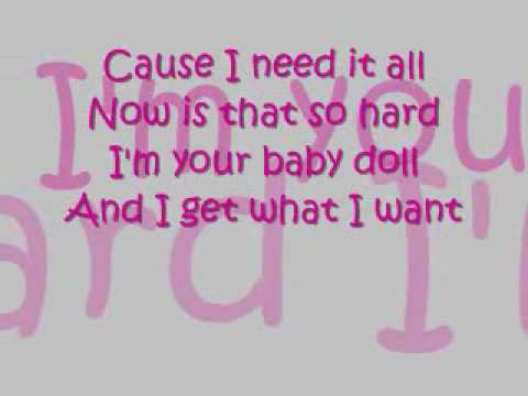 Girlicious-Babydoll Lyrics