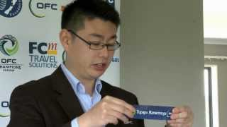 2013 OFC Champions League Preliminary Draw