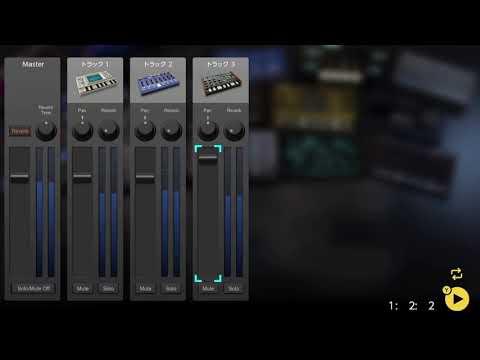 画像2: 04 08 全部の音を出してみる バレッドプレス KORG Gadget for Nintendo Switch講座 www.youtube.com