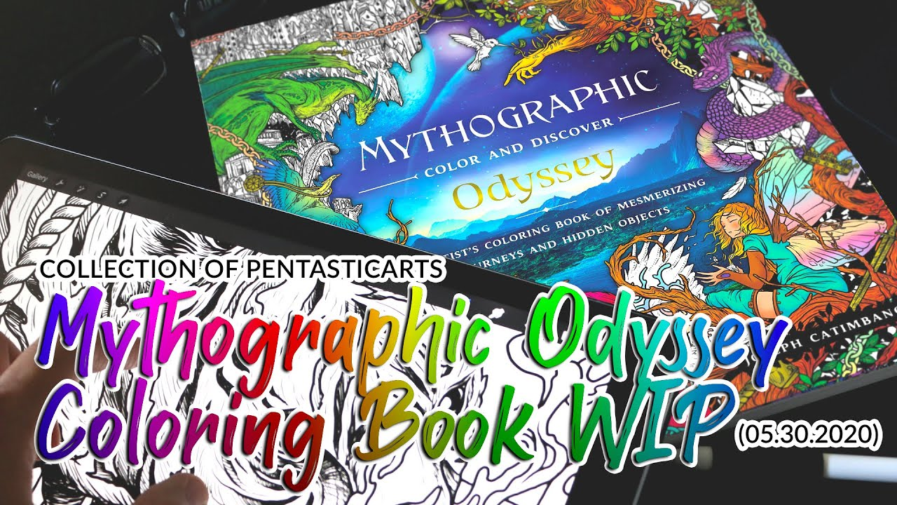 Ep 08 Mythographic Coloring Book Odyssey Youtube