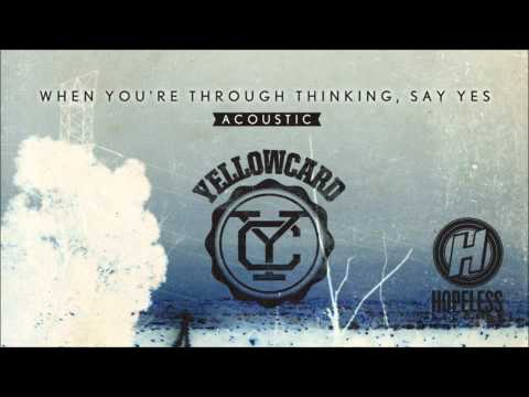 Yellowcard - Sing For Me (Acoustic)
