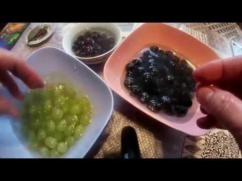 А ля маслины! Видео, как из винограда сделать маслины