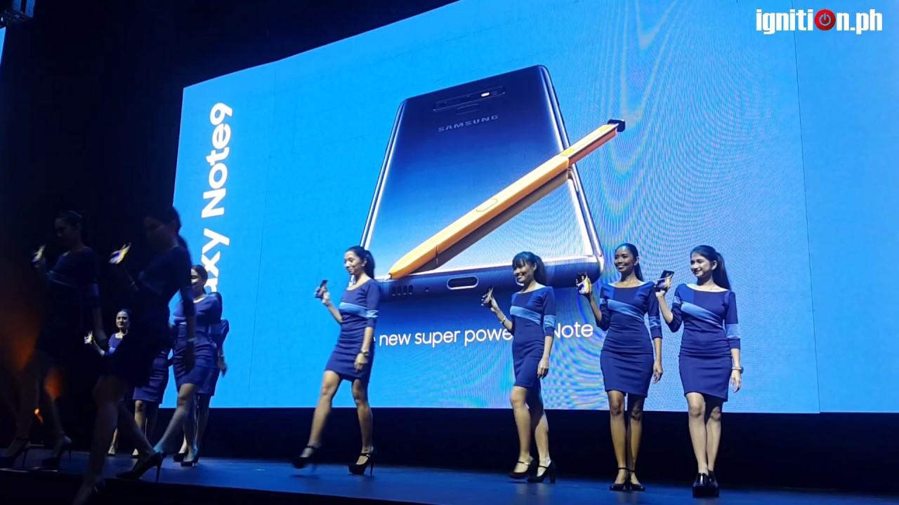 Samsung Galaxy Note9 Philippine Launch