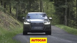 Review: Audi SQ7 driven | Autocar