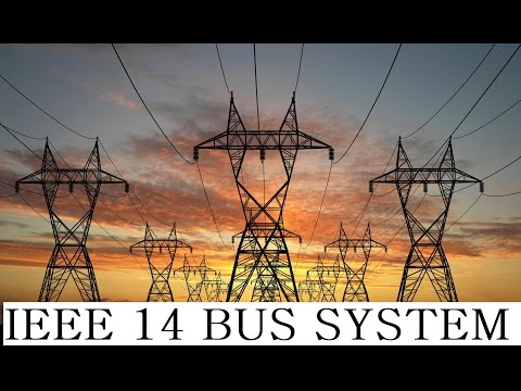 IEEE 14 BUS system simulation in Matlab Simulink - YouTube