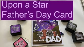 Lawn Fawn || Upon a Star Magic Iris Father's Day Card