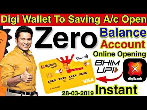 how-to-open-digi-bank-zero-balance-saving-account-online-||-dbs-wallet-upgrade-in-saving-account🔥