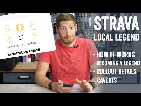 Strava's New Local Legends: How it works!