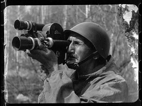 Съёмки кинокамерами времён ВОВ в наше время на 35 мм киноплёнку. Подборка ко Дню Защитника Отечества