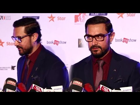 Aamir Khan Walks Away When Reporter Asked About Pakistani Actors & Ae Dil Hai Mushkil
