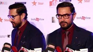 Aamir Khan Walks Away When Reporter Asked About Pakistani Actors & Ae Dil Hai Mushkil
