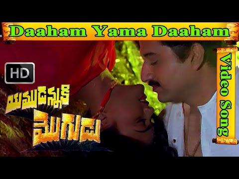 Yamudannaki Mogudu Movie Song - Daaham yama daaham   Suman   Nirosha   V9 Videos