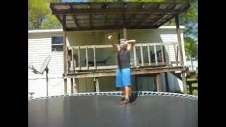Trampoline Wrestling KBW- Ak 47 vs The BULL DOZER (TITLE MATCH)