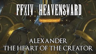 ffxiv alexander the heart of the creator normal guide a11n