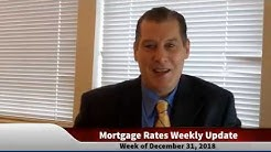 Mortgage Rates Weekly Video Update December 31 2018