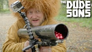 PAINTBALL CANNON CHALLENGE! - Follow The Leader