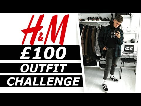 H&M £100 OUTFIT CHALLENGE | Budget and Affordable streetwear on Oxford Street | Gallucks