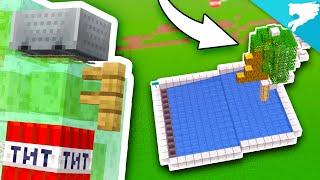 1,536 Wood per HOUR! Easy Minecraft Log Farm!