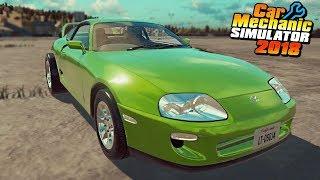 DRAG SUPRA - Car Mechanic Simulator 2018