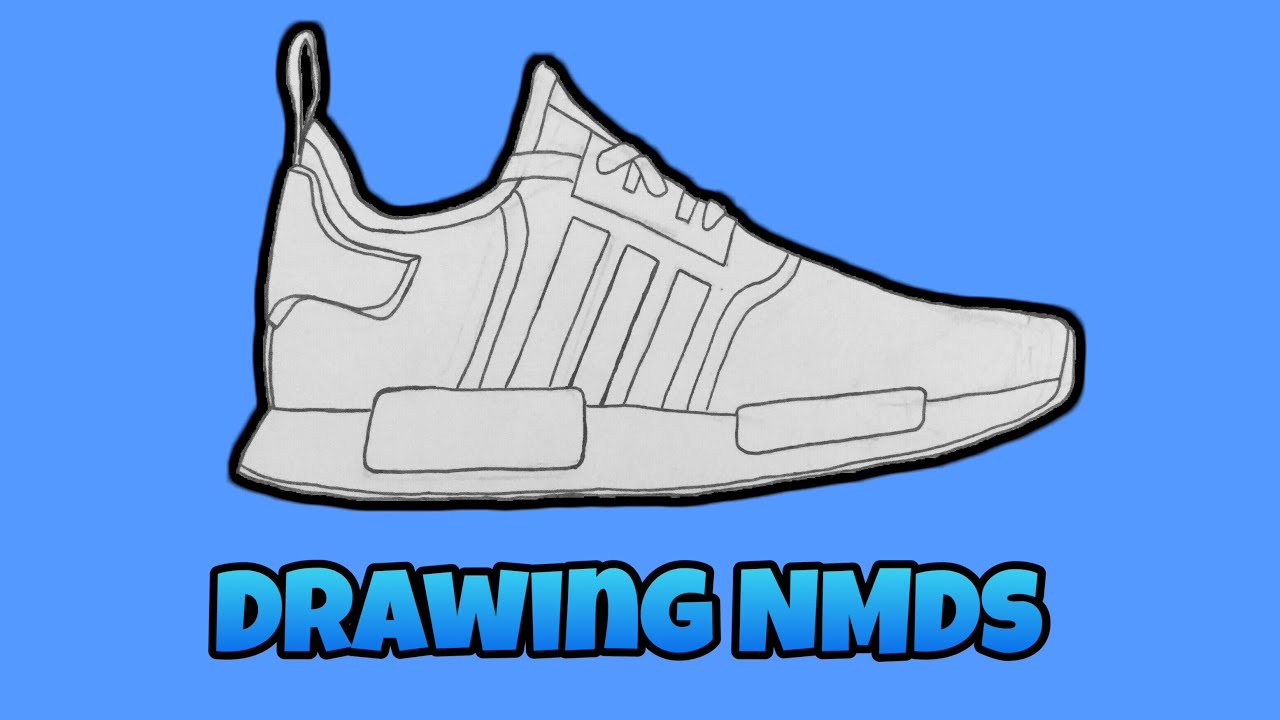 adidas shoes drawing easy