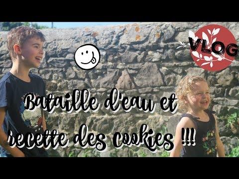 ❥-bataille-d'eau-et-recette-des-cookies-[quotidien-famille]-538-!!!-♥