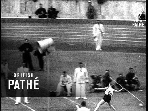 Olympic Sports In Berlin (1936)