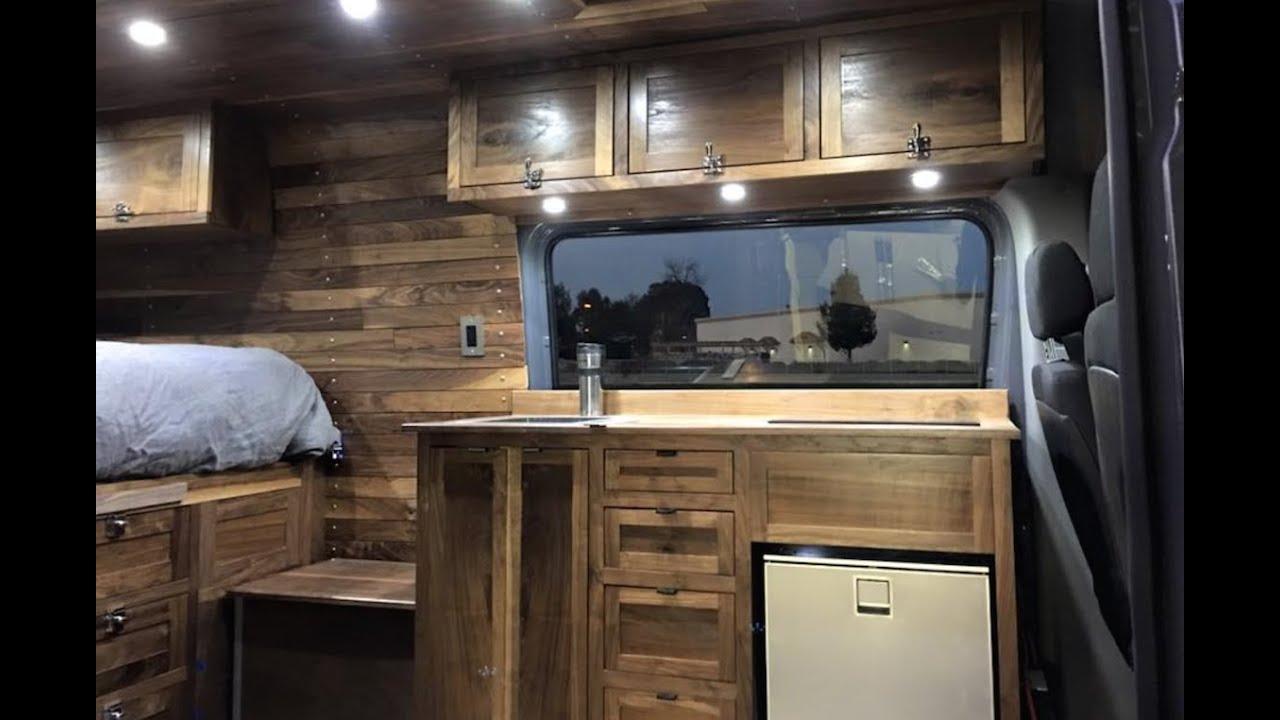 Mercedes Sprinter Van Build Update 4  YouTube