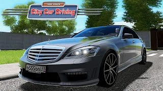 CITY CAR DRIVING - MERCEDES-BENZ S65 AMG - SIMULATORE DI GUIDA GAMEPLAY ITA