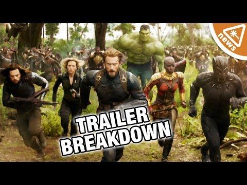 Avengers Infinity War Trailer Breakdown! (Nerdist News w/ Jessica Chobot)