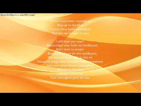 DIANA KRALL Moonglow Lyrics