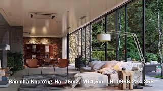 Bán nhà Khương Hạ - Thanh Xuân 2019| 75m2, Ngõ thông, cách ôtô tránh 40m| Đất Vàng Hà Nội.