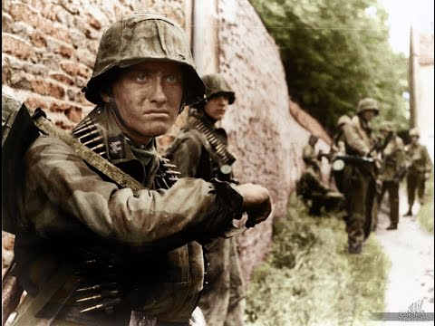 Battlefield Normandy 1944 Heavy Combat Footage
