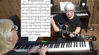 I Get Along Without You Very Well - Jazz guitar & piano cover ( Hoagy Carmichael )