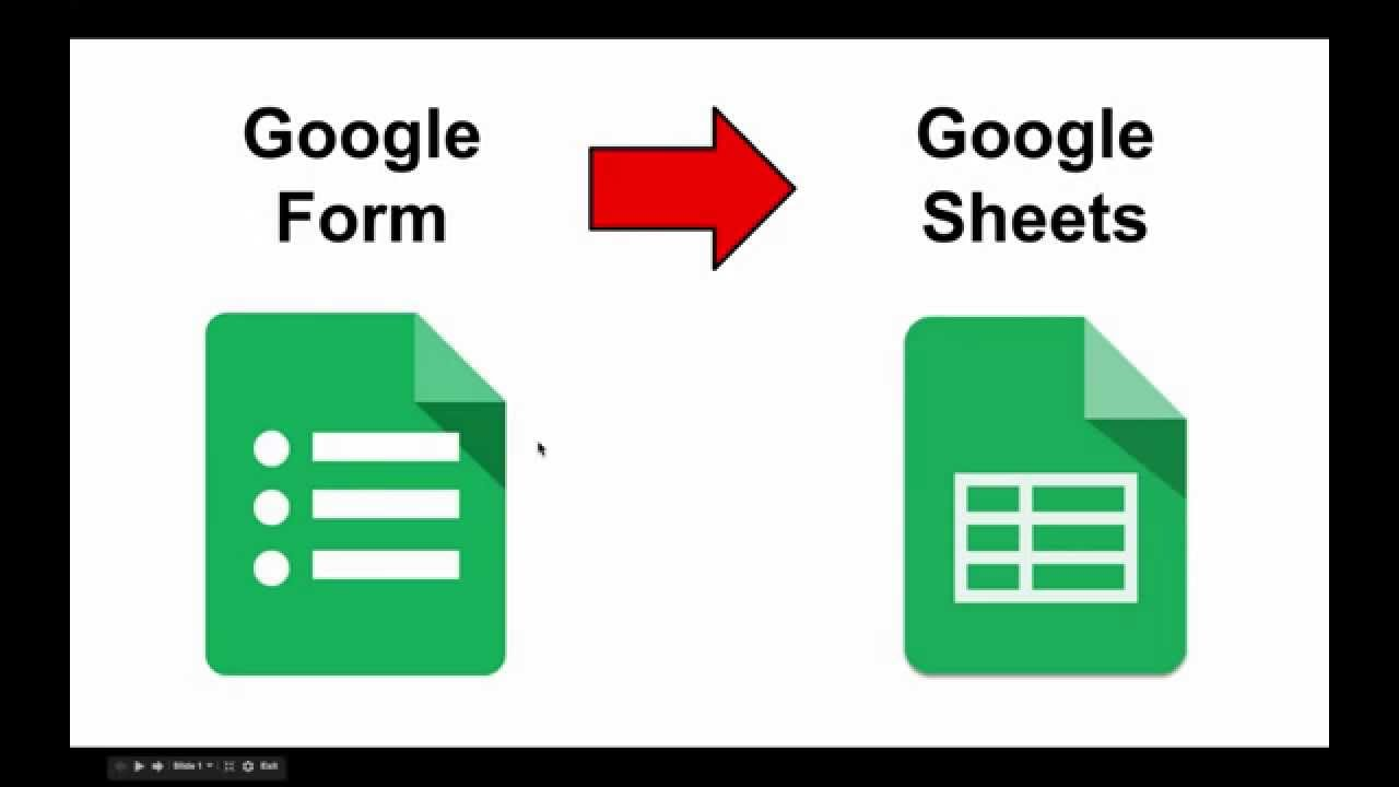Create a Google Form FROM a Google Spreadsheet - YouTube