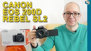 Canon EOS 200D SL2 Unboxing & First Look