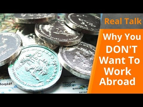 Working Abroad? | Real Talk Ep. 12