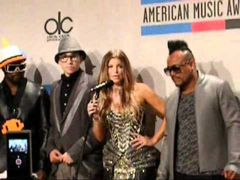 Download Black Eyed Peas at the 2010 American Music Awards Press Room