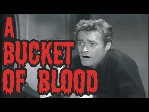 A Bucket of Blood - horror movie (1959) complete