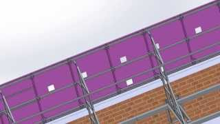 видео Натяжные потолки и их составные части