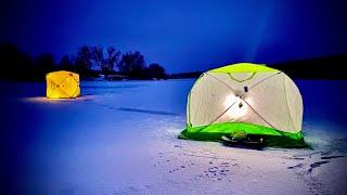 Зимняя рыбалка на НОЧНОГО КАРАСЯ в ЯНВАРЕ 2021!!!