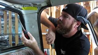 Finnegan's Garage Ep.7: New Glass for the Ramp Truck