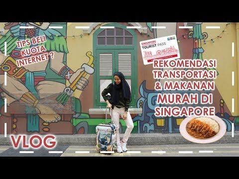 Singapore Vlog: Rekomendasi Transportasi & Belanja Makanan Murah + Tips Beli Sim Card Kuota Internet Mp3