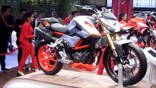 Hero XF3R 300cc Concept Bike Walkaround - AutoExpo 2016