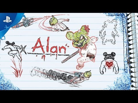 Drawn to Death - Alan Highlight Trailer | PS4