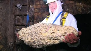 Flushers fightback against London\'s underworld fatbergs