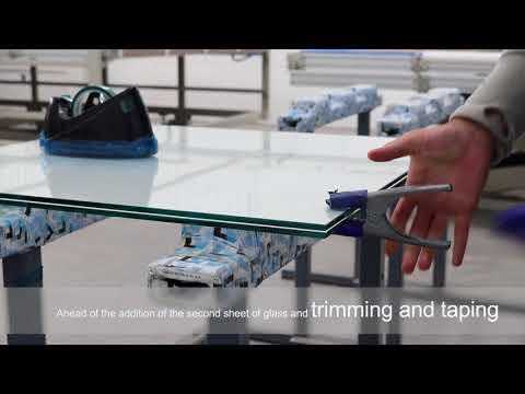 Cornwall Glass EVA Lamination Process