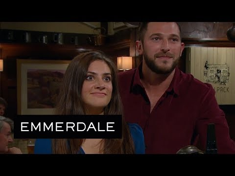Emmerdale - Ellis and Matty are Horrified When They See Victoria's Latest Date